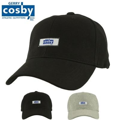 GERRY Cosby(コスビー) メンズ キャップ 帽子 スウエット 生地 ロゴ 刺繍 ネーム スポーツ キャップ CB9J501