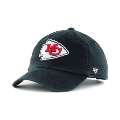 47ブランド メンズ 帽子 アクセサリー Kansas City Chiefs CLEAN UP Cap