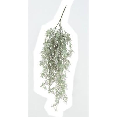造花 アスカ ティーリーフハンギングブッシュ グリーンピンク A-42509-051P 造花葉物 ティーリーフ