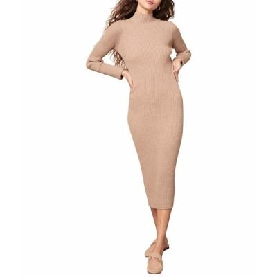 ビービーダコタ ワンピース トップス レディース Sweater Of Intent Dress Light Taupe