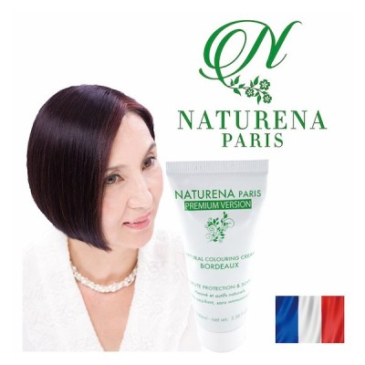 白髪染め ヘアカラー ボルドー 毛染め 敏感肌 低刺激 ジアミンフリー 天然成分配合 美髪 艶 ヘナ 頭皮に優しい 送料無料 トリートメント効果