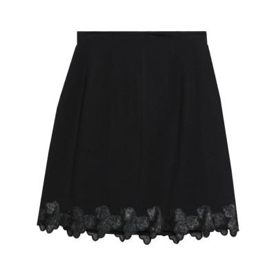 22 MAGGIO by MARIA GRAZIA SEVERI ひざ丈スカート ブラック 42 レーヨン 69% / ナイロン 25% / ポリウ