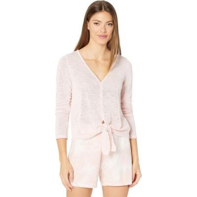 サンクチュアリ Sanctuary レディース ニット・セーター トップス Chelsea Tie Front Sweater Knit Tee Lotus