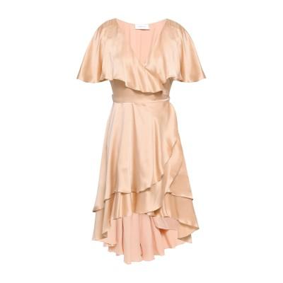ZIMMERMANN ミニワンピース&ドレス ローズピンク 1 シルク 100% ミニワンピース&ドレス