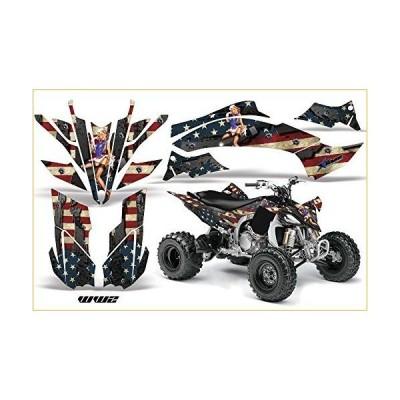 Yamaha YFZ 450?R / SE 2009???2013?ATV全地形対応車AMRレーシンググラフィックキットデカールww2 グラフィック