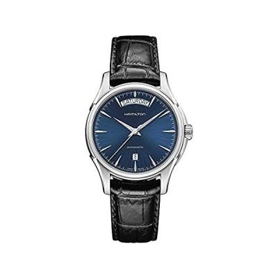 Hamilton H32505741 Jazzmaster Blue Dial Black Leather Men's Watch