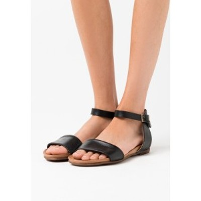 アンナフィールド レディース サンダル シューズ LEATHER  - Sandals - black black