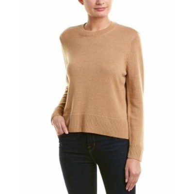 The Kooples ザ クープルズ ファッション トップス The Kooples Classic Wool-Blend Sweater 1 Brown