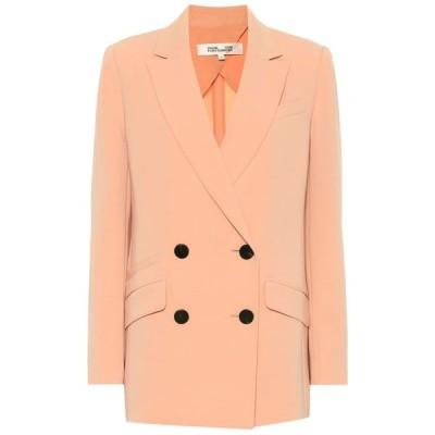 ダイアン フォン ファステンバーグ Diane von Furstenberg レディース スーツ・ジャケット アウター madison double-breasted blazer Coral Dust