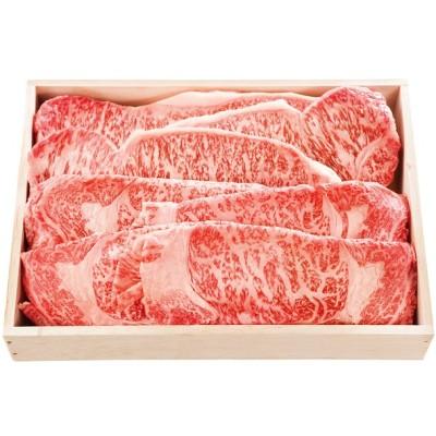 お歳暮 大井肉店 黒毛和牛 ロースステーキとすき焼詰合せ