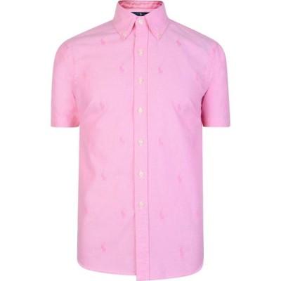 ラルフ ローレン POLO RALPH LAUREN メンズ 半袖シャツ トップス All Over Print Short Sleeve Shirt Pink