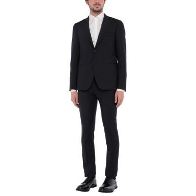 マッシモ レベッキ MASSIMO REBECCHI スーツ ダークブルー 54 ポリエステル 52% / ウール 23% / レーヨン 22% /