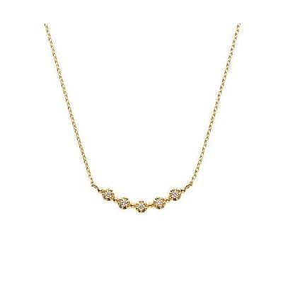 ヴァンドーム青山 VENDOME AOYAMA K18YG ダイヤモンド セントオブスプリング ミモザ ネックレス AGVN648040DI