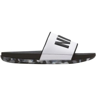 ナイキ Nike メンズ サンダル シューズ・靴 offcourt slide Black/Black/White/Particle Grey