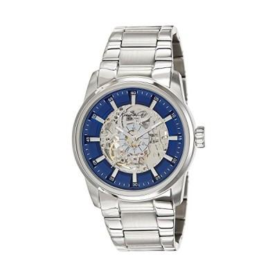 Kenneth Cole New York Men's 10019489 Analog Display Japanese Quartz Silver Watch 並行輸入品