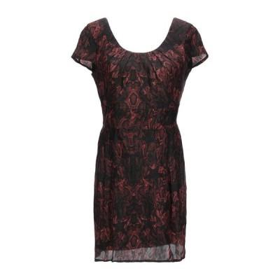 PHILIPP PLEIN シルクドレス ファッション  レディースファッション  ドレス、ブライダル  パーティドレス ボルドー