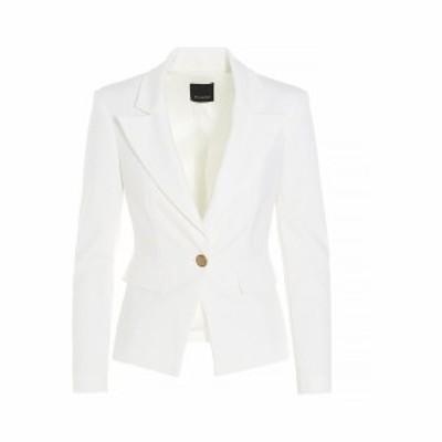 PINKO/ピンコ White Gomberto 5' blazer jacket レディース 春夏2021 1G160B5872Z05 ju