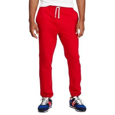 ラルフローレン メンズ カジュアルパンツ ボトムス Classic Fleece Drawstring Pants RL2000 Red
