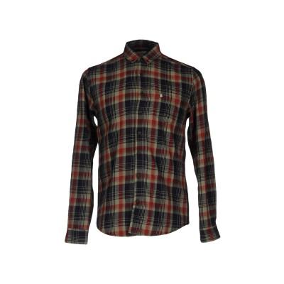 フォーティーウエフト 40WEFT シャツ ミリタリーグリーン L コットン 100% シャツ