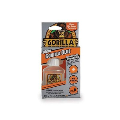 Gorilla 4500104クリア接着剤 1.75オンス 透明 1 - Pack 4500104 1 (クリア 1 pack)