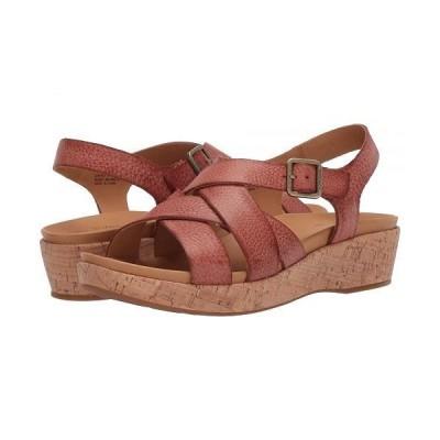 Kork-Ease コークイーズ レディース 女性用 シューズ 靴 ヒール Caroleigh - Rust Full Grain Leather