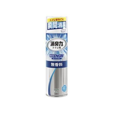 エステー トイレの消臭力スプレー 無香料 123593 (132163) / 330ml / オフィス用品 生活用品 家電 / 64974