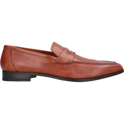 サントーニ SANTONI メンズ ローファー シューズ・靴 loafers Tan