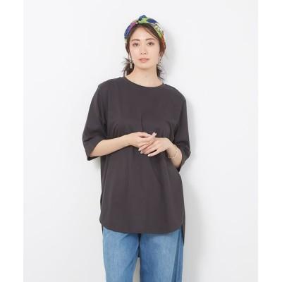 collex/コレックス 【接触冷感】コンパクトクールチュニックTシャツ スミクロ F