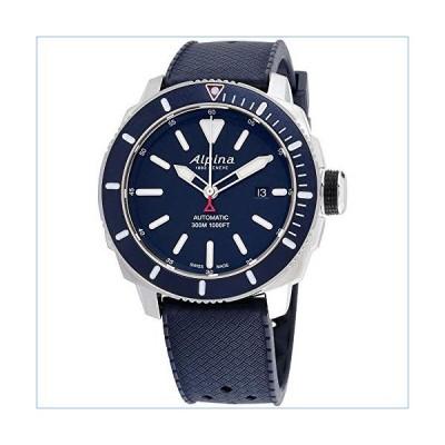 Alpina Seastrong Diver 300 Blue Dial Rubber Strap Men's Watch AL525LBN4V6並行輸入品