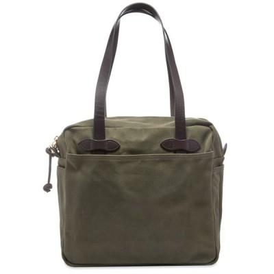フィルソン Filson メンズ トートバッグ バッグ Zip Tote Bag Otter Green