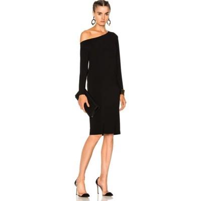 ノーマ カマリ Norma Kamali レディース ワンピース ドロップショルダー ワンピース・ドレス drop shoulder dress Black