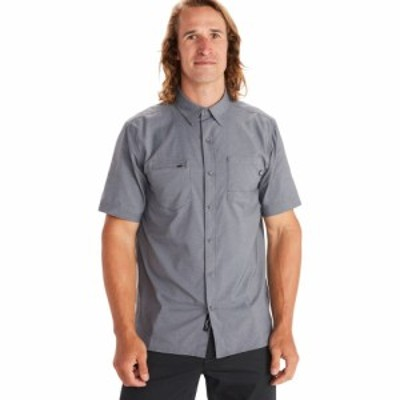 マーモット Marmot メンズ トップス innesdale shirt Steel Onyx