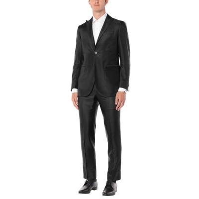 CC COLLECTION CORNELIANI スーツ ブラック 48 アセテート 75% / バージンウール 25% スーツ