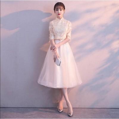 4色入 素敵 ワンピース 大きいサイズ 結婚式 ノースリーブ 二次会 パーティードレス プリンセスライン ロング マキシワンピ 可愛い 女性 花嫁