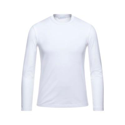 クルチアーニ CRUCIANI T シャツ ホワイト 50 コットン 93% / ポリウレタン 7% T シャツ