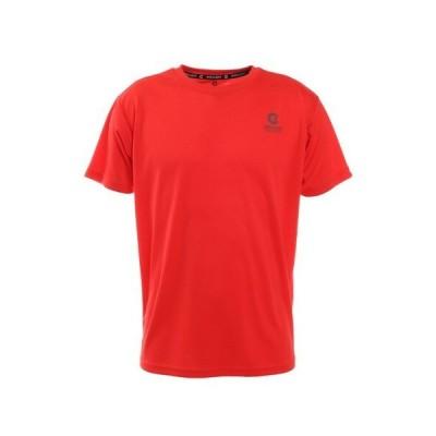 ジローム(GIRAUDM) ドライ 吸汗速乾 UVカット 半袖メッシュTシャツ 863GM1CD6668 RED (メンズ)