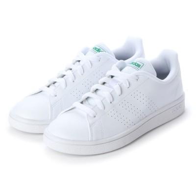 ラナン Ranan 〈adidas〉アドバンコートスニーカー (ホワイト/グリーン)