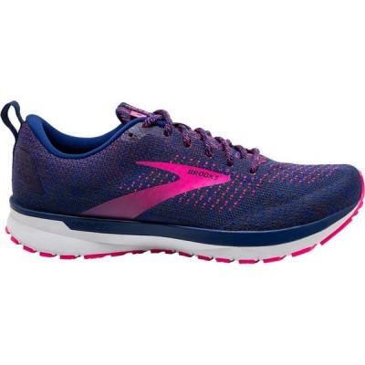 ブルックス Brooks レディース ランニング・ウォーキング シューズ・靴 Revel 4 Blue/Ebony/Pink
