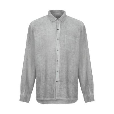 CROSSLEY シャツ グレー XL 麻 100% シャツ