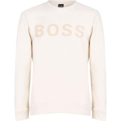 ヒューゴ ボス Boss メンズ スウェット・トレーナー トップス Weefast Sweater Open White