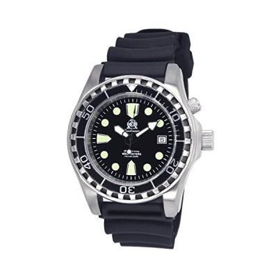 Professionall diver watch with sapphire glass and helium velve T0258 並行輸入品