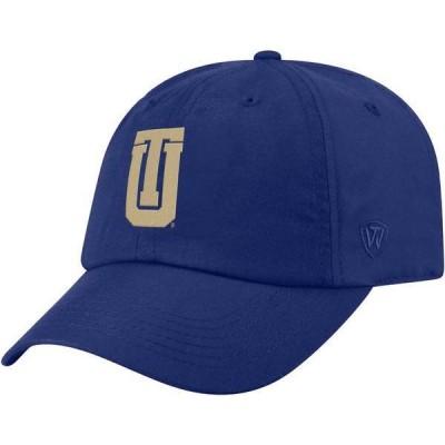 トップオブザワールド メンズ 帽子 アクセサリー Top of the World Men's Tulsa Golden Hurricane Blue Staple Adjustable Hat