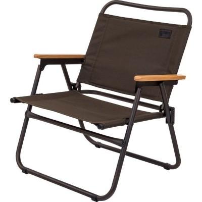 Alpine DESIGN アルパインデザイン フォールディングローチェア AD-S20-015-023 キャンプ用品 ファミリーチェア 椅子 ダークブラウン