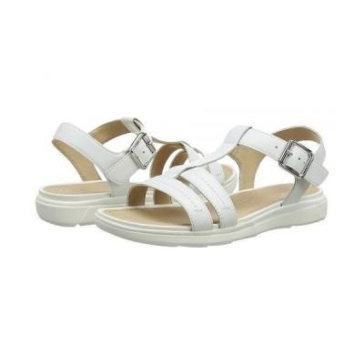 Geox ジオックス レディース 女性用 シューズ 靴 ヒール Hiver 3 - White