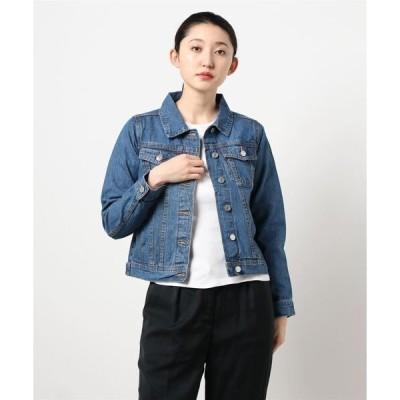 ジャケット Gジャン 【FLEUR DE KALINA/フレール ドゥ カリーナ】 大人かわいいデニムジャケット