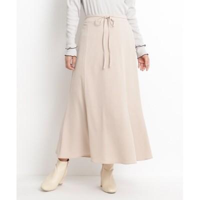 grove / 【S-LL】サテン細ベルト付ナロースカート WOMEN スカート > スカート