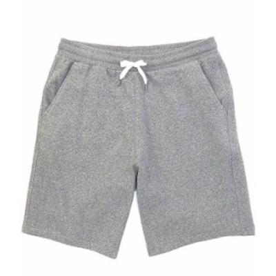 クイックシルバー メンズ ハーフパンツ・ショーツ ボトムス Essentials 19#double; Outseam Fleece Shorts Light Grey Heather