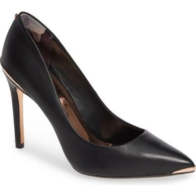 テッドベーカー TED BAKER LONDON レディース パンプス シューズ・靴 Izibeli Pump Black Leather