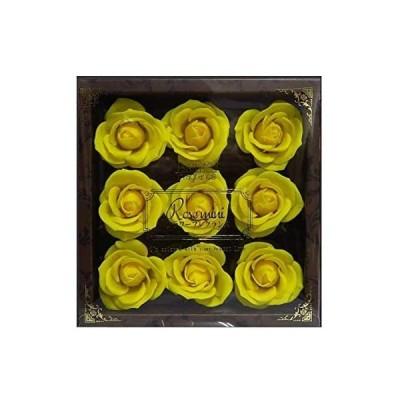 九州フラワーサービス お花のカタチの入浴剤 ミニローズフレグランスL 9輪入り 771767