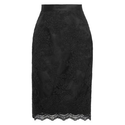マルケーザ MARCHESA 7分丈スカート ブラック 4 ポリエステル 100% 7分丈スカート